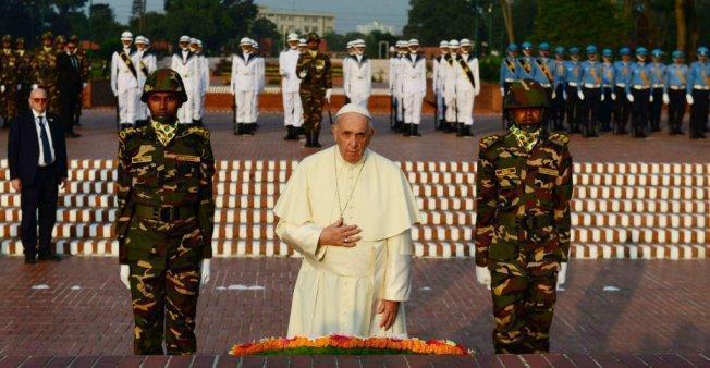 درخواست پاپ از جامعه جهانی برای حل بحران مسلمانان روهینگیایی