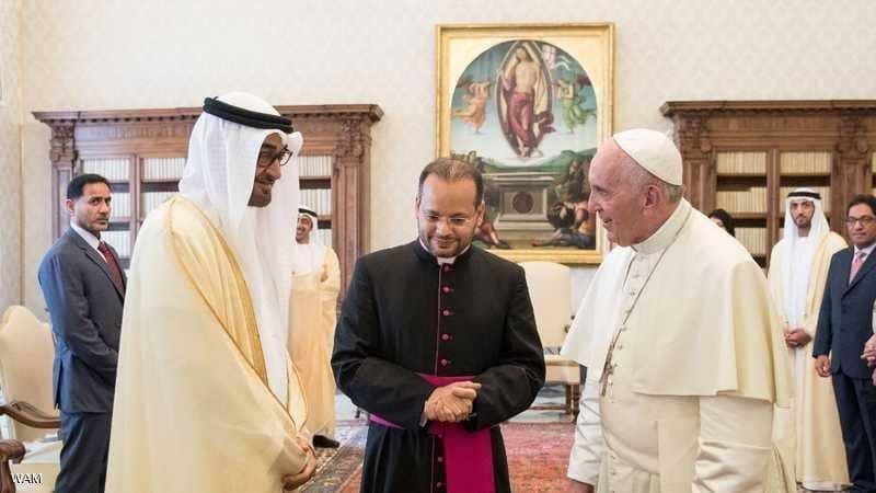 پاپ فرانسیس ۱۴ بهمن به امارات میرود