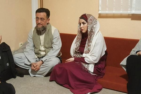 بانوی صربستانی مسلمان شد