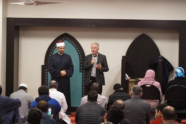 پیروان ادیان؛ مهمان ضیافت افطار مسجد تورنتو