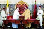 امضای سند «پیام قدس» میان پاپ و پادشاه مراکش