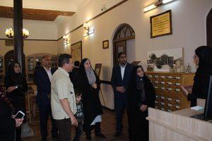رئیس سازمان اسناد و کتابخانه ملی از کلیسای وانک بازدید کرد