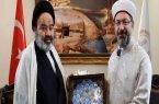 حجتالاسلام نواب با رئیس سازمان دیانت ترکیه دیدار و گفتوگو کرد