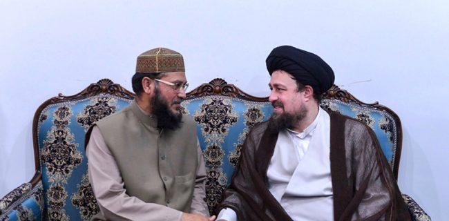سید حسن خمینی: «وحدت مذاهب» شعار کلیدی انقلاب بوده است