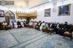 آیتالله سیستانی از تمام اقشار ملت عراق حمایت میکنند