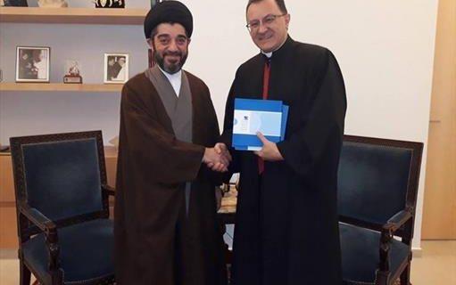 تاکید دبیرکل مؤسسه آیتالله حکیم بیروت و سفیر واتیکان بر گفتگوی میان ادیان