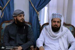 گزارش تصویری/ دیدار جمعی از علمای شیعه و سنی با سید حسن خمینی