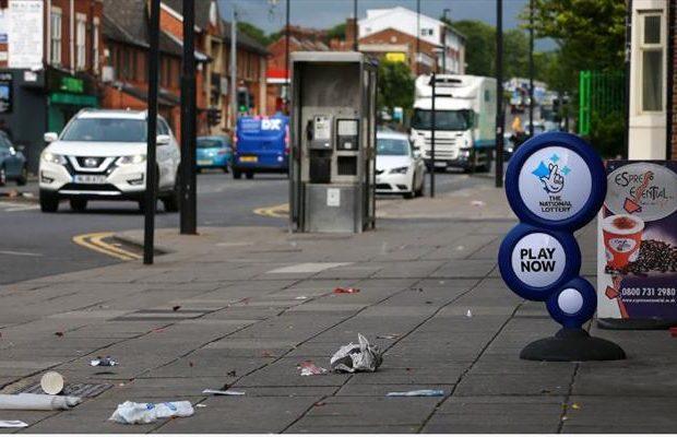 قدردانی از مسلمانان نیوکاسل به خاطر تمیز کردن خیابانها در ماه رمضان
