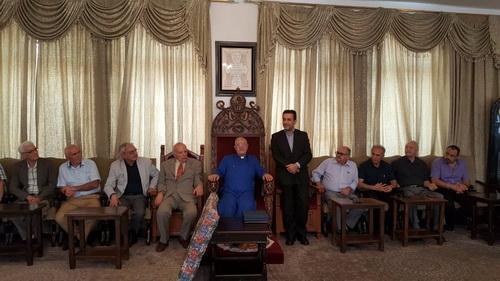 مراسم قدردانی از رییس دفتر امور اقلیتهای دینی وزارت ارشاد در تالار خلیفهگری ارامنه تهران برگزار شد