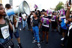 تظاهرات یهودیان اتیوپی در اراضی اشغالی و سر دادن شعار «فلسطین آزاد است»