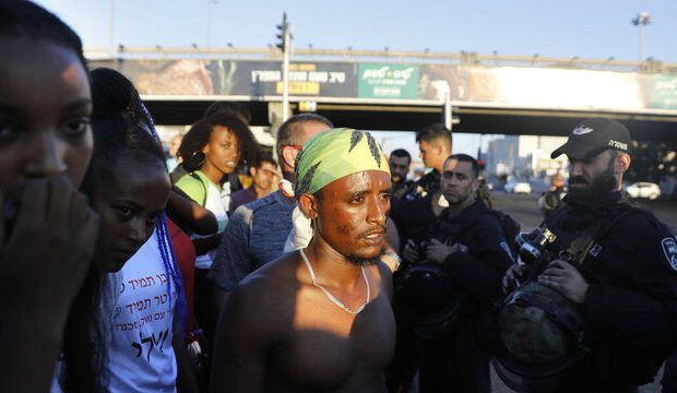 تظاهرات هزاران یهودی آفریقاییتبار در تلآویو با شعار «آزادی فلسطین»