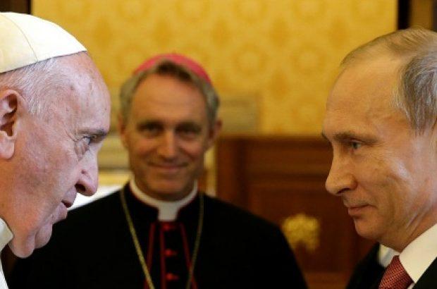 پوتین به ایتالیا رفت تا با پاپ و نخستوزیر دیدار کند