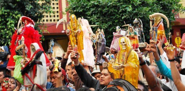 عکس / رشد فرقه مذهبی «مرگ مقدس» در مکزیک