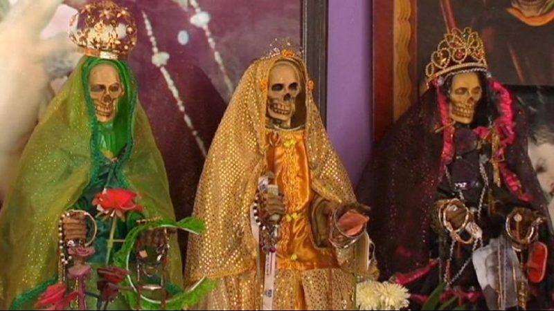 رشد فرقه مذهبی «مرگ مقدس» در مکزیک