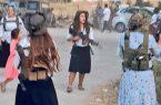زنان صهیونیست در حال تمرین آدمکشی + عکس