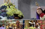 برگزاری مراسم عید تبرک انگور و عروج مریم مقدس با حضور جمعی از ارامنه در کلیساها