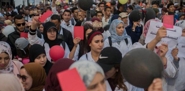 احزاب اسلامی مراکش با الگوی غربی آموزش مخالفت کردند