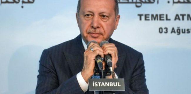 اردوغان کلنگ اولین کلیسای ترکیه پس از سال ۱۹۲۳ را بر زمین زد