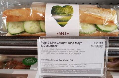 خشم مسلمان انگلیسی به خاطر دریافت ساندویچ غیر حلال