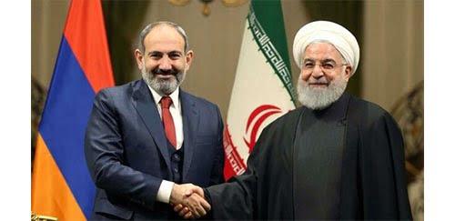 دعوت پاشینان از روحانی برای شرکت در اجلاس شورای اقتصادی اوراسیا