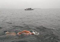 نخستین مسلمانی که موفق شد کانال سخت شمالی را شنا کند