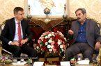 دیدار ژرژیک آبراهامیان با سفیر سوئیس در تهران
