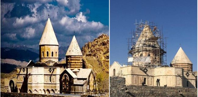 مرمت قره کلیسا منطبق با استانداردهای یونسکو انجام شده است