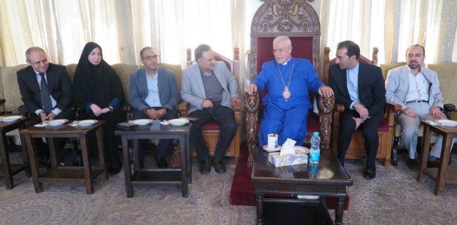 دیدار معارفه رئیس جدید اداره امور اقلیتهای دینی در تالار خلیفهگری