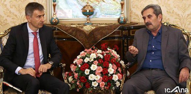 دیدارسفیر سوئیس در تهران با نمایندگان ارامنه شمال و جنوب در مجلس شورای اسلامی