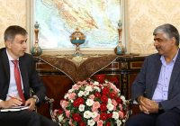 دیدار سفیر سوئیس در تهران با نماینده زرتشتیان در مجلس شورای اسلامی