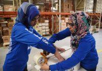 دانشجویان ادیان مختلف در دانشگاه مریلیند، ۲۰ هزار وعده غذایی به نیازمندان دادند