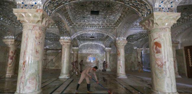 برنامه خدماتی و امنیتی آستان مطهر علوی در اربعین امام حسین(ع)