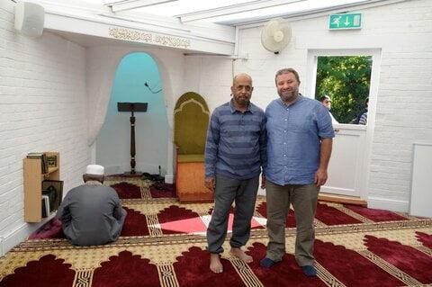 تصمیم مسلمانان شهر کنت انگلستان برای ساختن مسجد زیبا و نمونه
