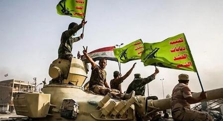 حمله پهبادهای اسرائیلی به پایگاه حشد شعبی