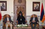 دیدار سفیر ارمنستان با کارگزاران اصفهانی در کلیسای وانک