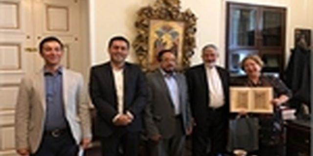 رییس دانشگاه پانتئون آتن: من و همه هیأت یونانی از این میزان آزادی و صلح بین ادیان در ایران شگفتزده شدیم