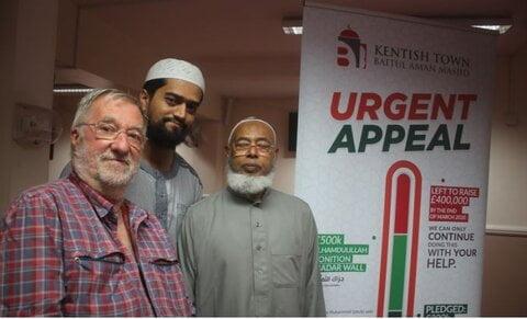 مسجدی در لندنبا هزینه ۱٫۲ میلیون یورو توسعه می یابد