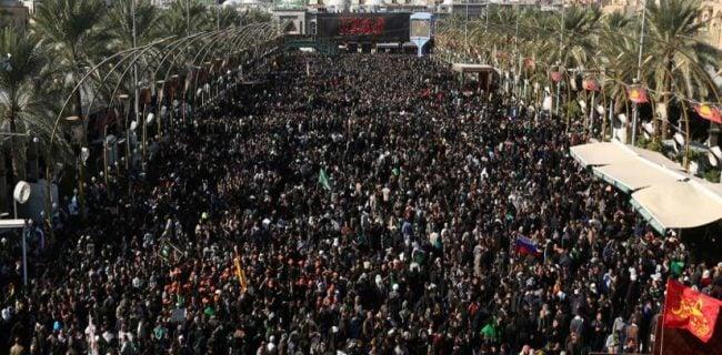 پیادهروی اربعین بزرگترین گردهمایی مذهبی جهان است