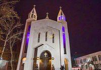 چهارراهی منحصربفرد در تهران که به «چهار راه ادیان» معروف است + فیلم
