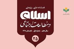 بیست و پنجمین شماره از «اسلام و مطالعات اجتماعی» منتشر شد