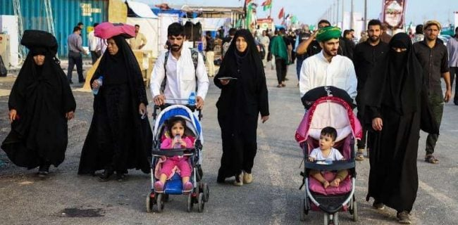 پیادهروی اربعین نماد همبستگی امت اسلام است