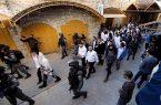 یورش شهرکنشینان صهیونیست به کلیسای «الخلیل»