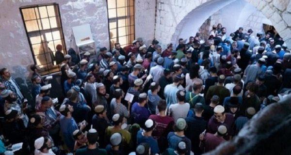 یورش ۱۴۰۰ صهیونیست به مقبره یوسف پیامبر(ع) در نابلس