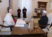 شیخ الازهر با پاپ فرانسیس دیدار کرد