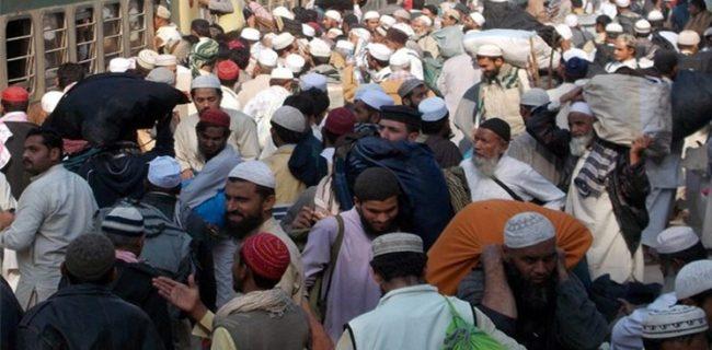 دیدار گروههای افراطی وهابیت در بزرگترین اجتماع مذهبی مسلمانان شبه قاره