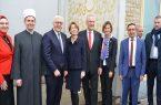 رئیسجمهور آلمان در مسجد پنزبرگ/ تأکید بر همزیستی ادیان