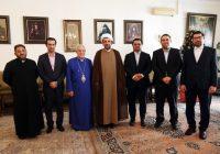 رئیس سازمان فرهنگی و هنری شهرداری تهران از خلیفه گری ارامنه تهران دیدار کرد