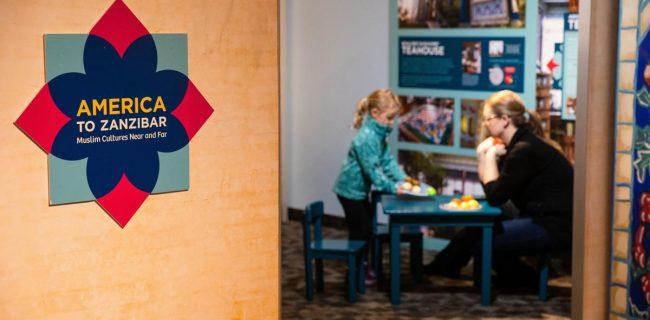 نمایشگاه «فرهنگهای مسلمانی دور و نزدیک» در موزه کودک اوماها