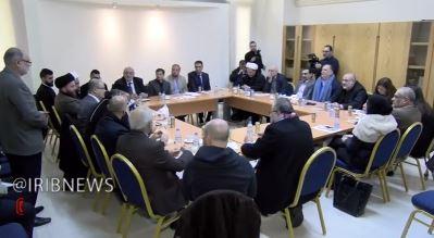 نشست «همزیستی مسالمتآمیز بین ادیان در مواقع بحرانی» در بیروت برگزار شد + فیلم
