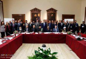 گزارش تصویری برگزاری کنفرانس ادیان ابراهیمی در دانشگاه گریگوری در شهر واتیکان
